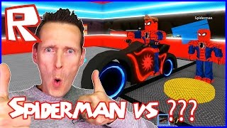 Spiderman VS Superman in Roblox