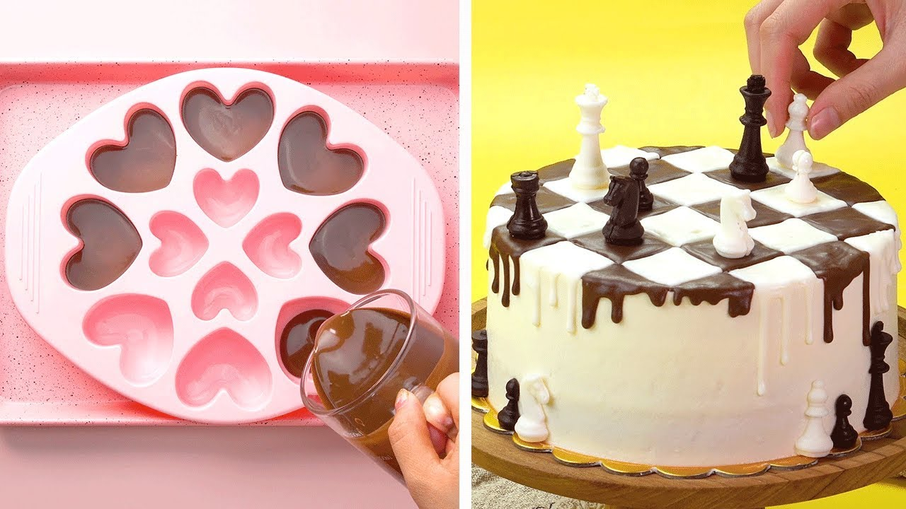 12 Quick and Easy Chocolate Cake Decorating Tutorials At ...