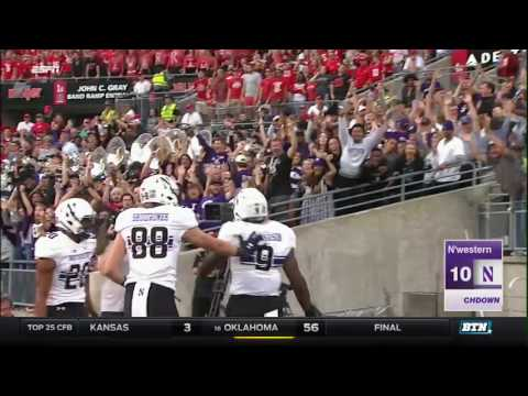 Northwestern at Ohio State - Football Highlights