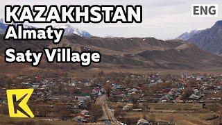 【K】Kazakhstan Travel-Almaty[카자흐스탄 여행-알마티]사티 마을/Saty Village/Local life