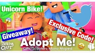 Adopt Me! || Roblox || Giveaway! || Exclusive Code!