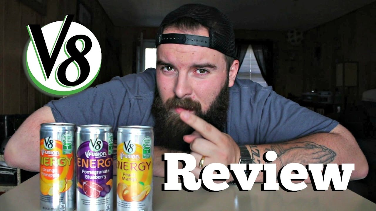 V8 Energy Review >> V8 Vfusion Energy Drink Review