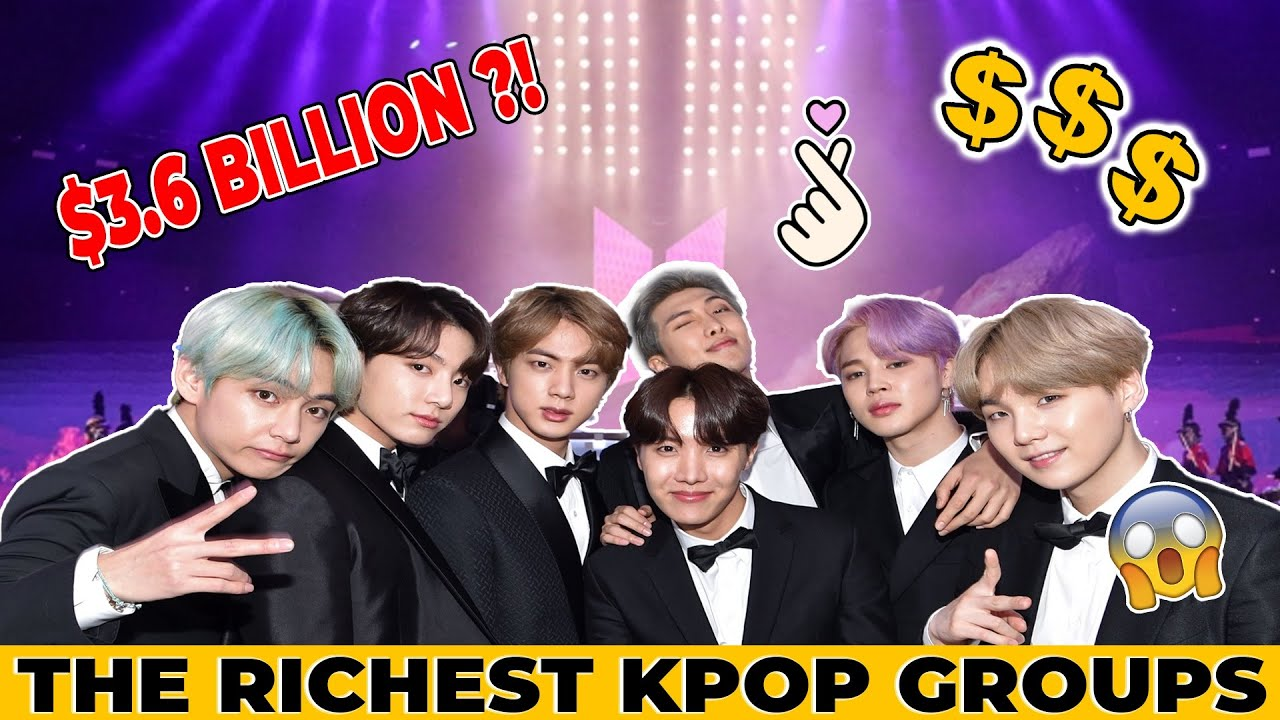 Awesome Top 10 Richest Kpop Groups 2021 wallpapers to download for free greenvirals