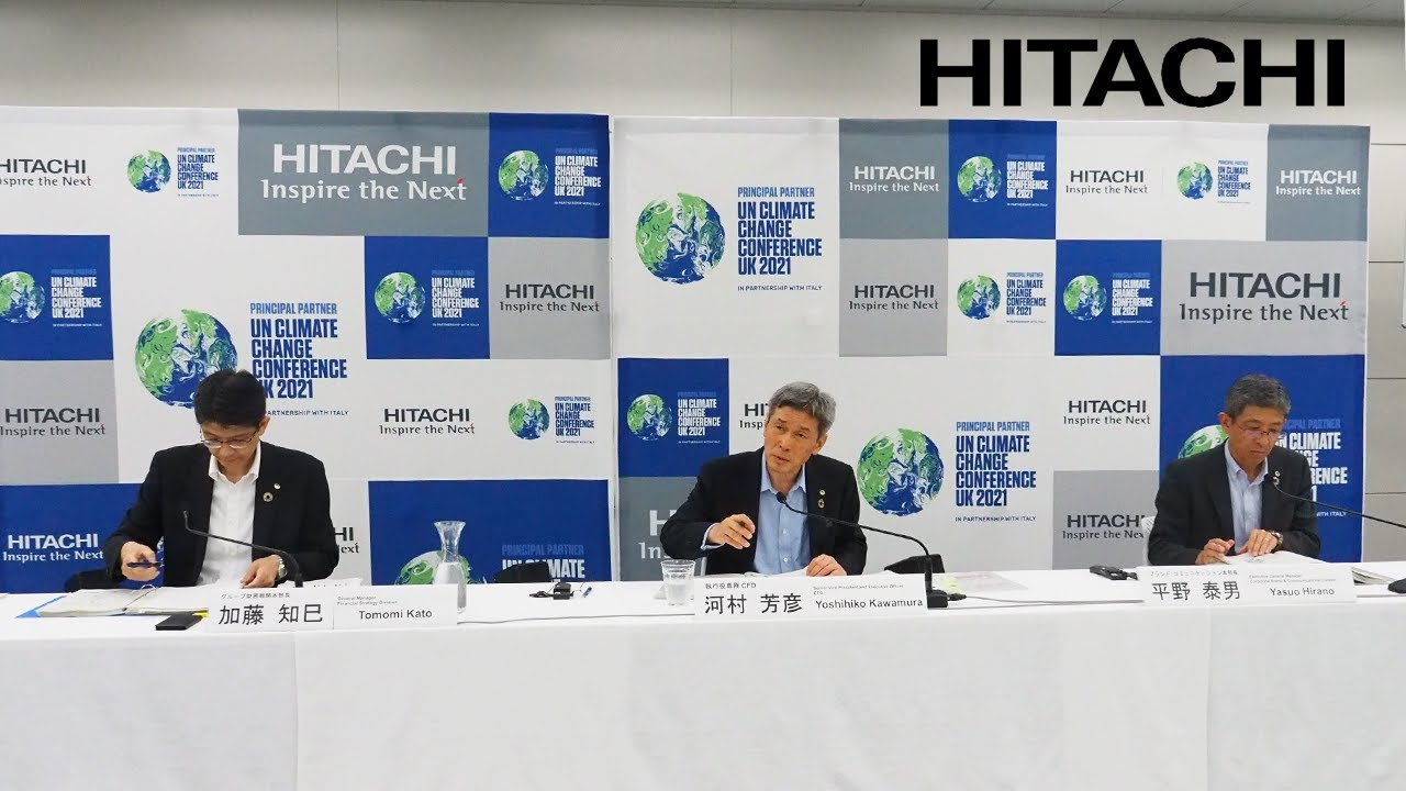 Download Web Conference on Q1 FY2021 Earnings for Media - Hitachi