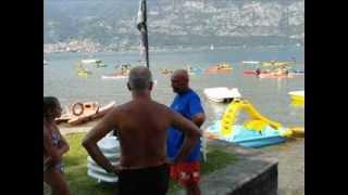 IN CANOA KAYAK A SASSABANEK (LAGO DI ISEO, BRESCIA, ITALY)