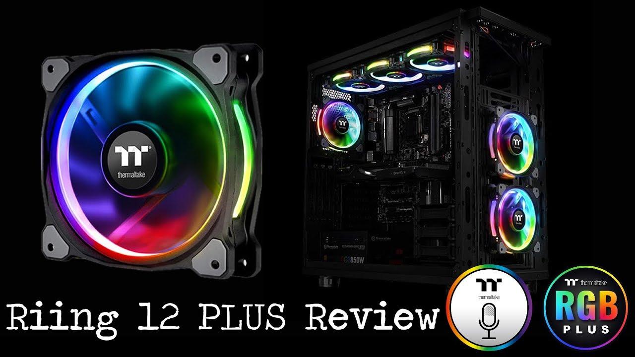 Thermaltake Riing 12 Plus Premium Edition Fans Review