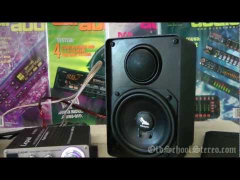 Old School Car Audio Bookshelf Speakers? DIY Audiophile Project