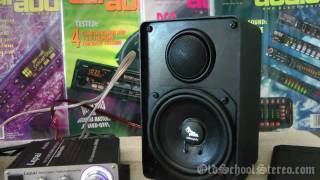Old School Car Audio Bookshelf Speakers? Diy Audiophile Project