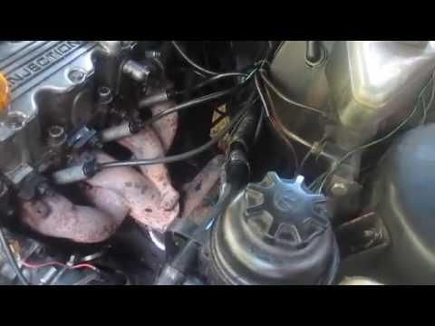 Opel Omega A. ремонт. замена тросика сцепления