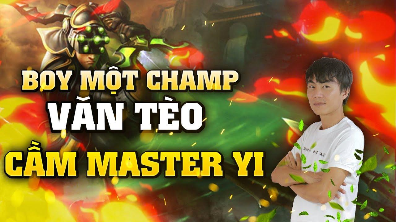 [THROWTHI] Boy Một Champ Văn Tèo Cầm Master Yi Đi Rừng Chém Hết