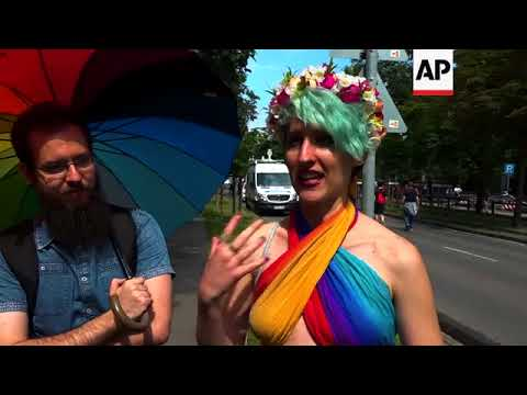 Pride March Passes Without Incident In Hungarian Capital