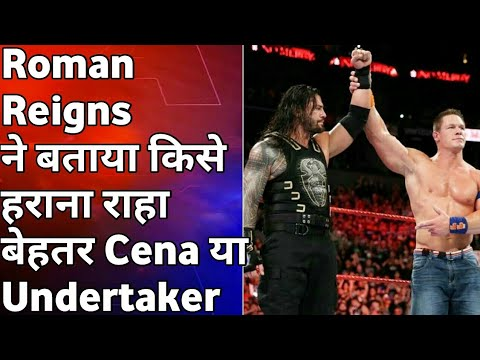 Roman Reigns Latest Interview With Times Of India (wwe hindi)