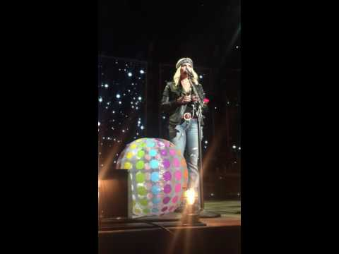 Michael J. - Miranda Lambert hates beach balls and stabs them whenever she can.