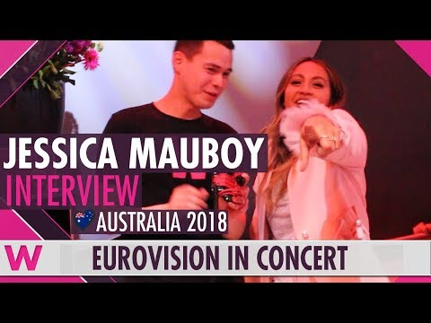 Jessica Mauboy (Australia 2018) Interview | Eurovision in Concert 2018