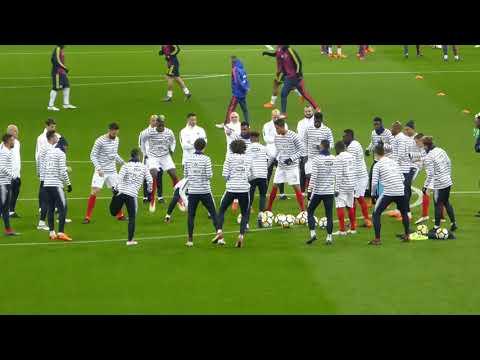 Olivier Giroud ● Paul Pogba ● Raphaël Varane ● France vs Colombie 2018