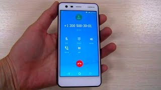 Nokia 2 preset dialer, incoming call