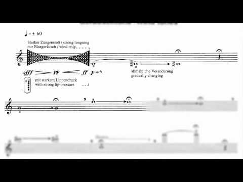 Etude 1 Wind Tones, For the Contemporary Flutist, Wil Offermans