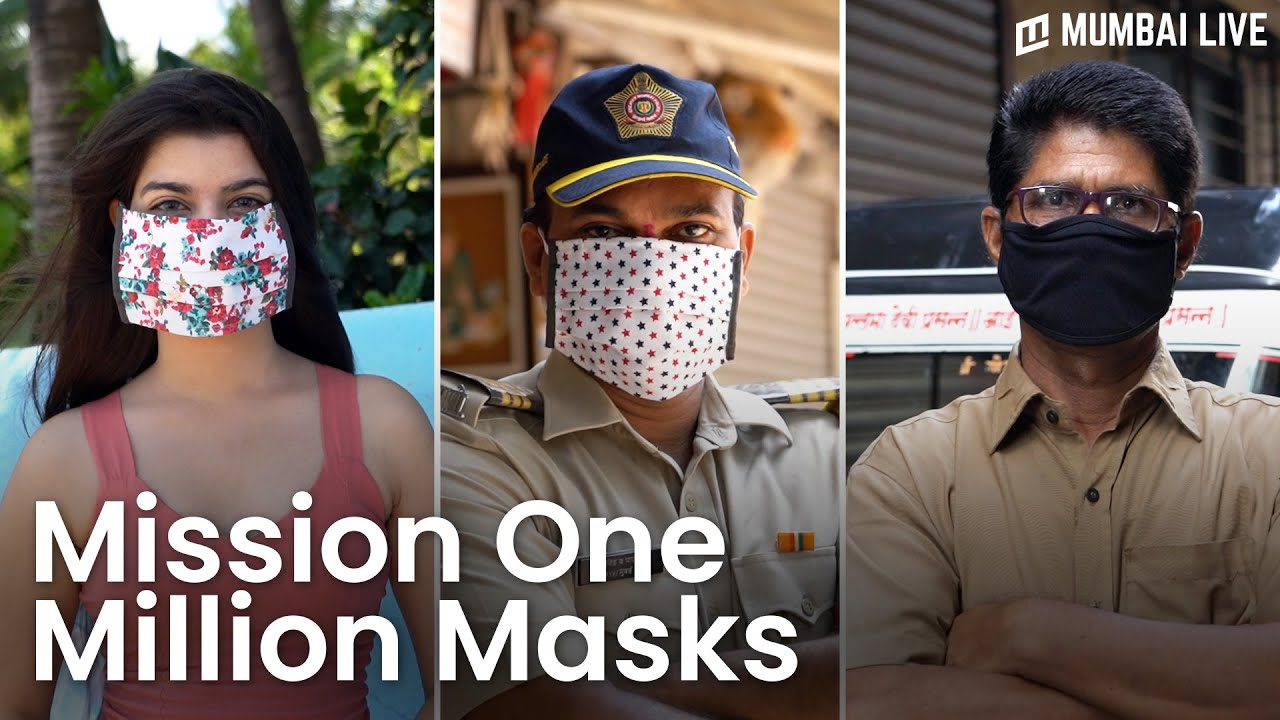 Mission One Million Masks for Frontline Workers | Mumbai Live