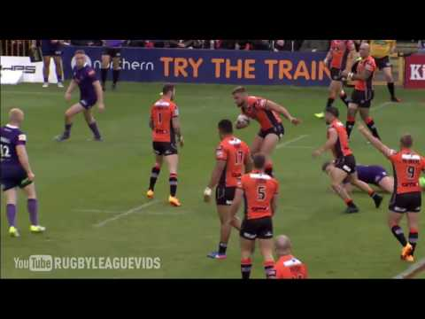Castleford vs Wigan - Tries & Highlights - Castleford Tigers 54-4 Wigan Warriors