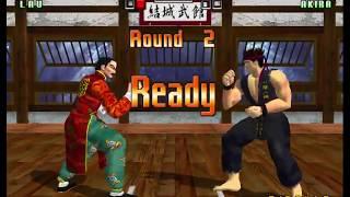 Virtua Fighter 3tb Lau Chan Gameplay