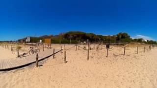 Spiaggia - Camping Flumendosa di Santa Margherita a Pula, Cagliari, in Sardegna - Video 360