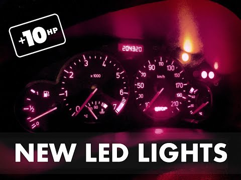 HOW TO change control dash cluster lights! PEUGEOT 206!