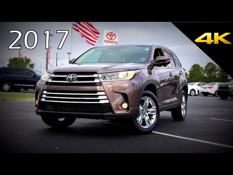 2017 Toyota Highlander Limited - Ultimate In-Depth Look in 4
