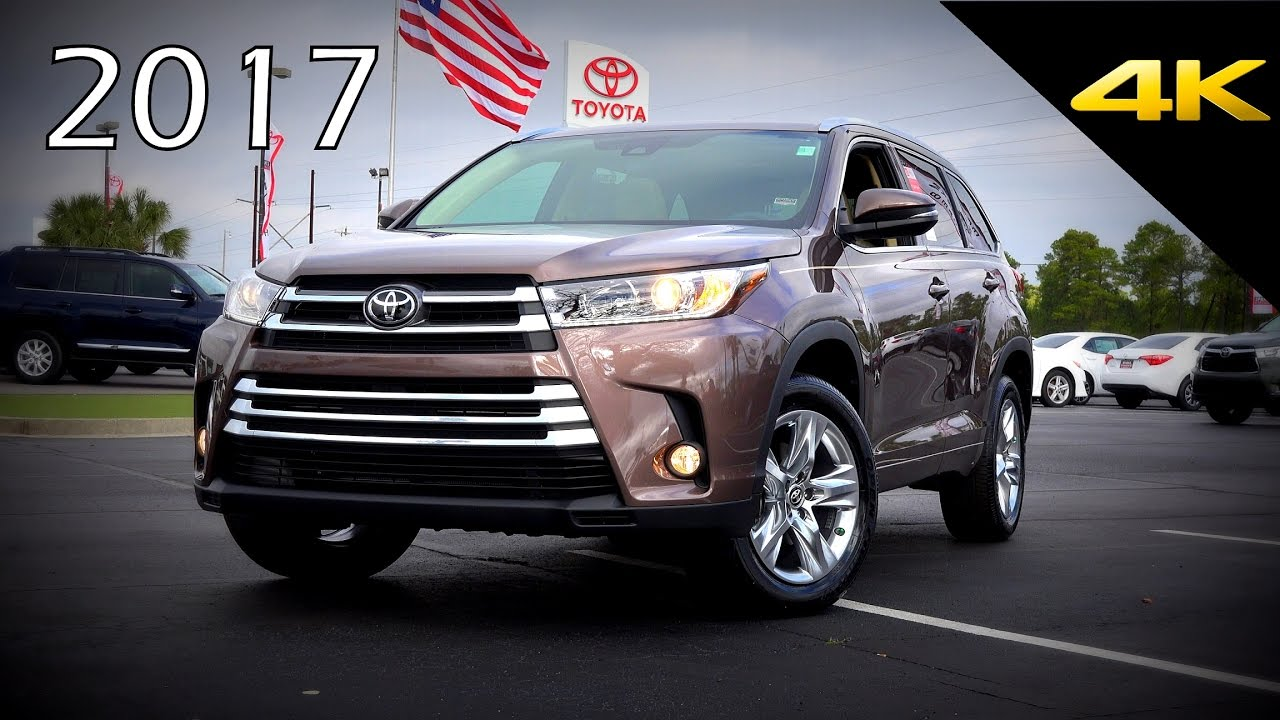 2017 Toyota Highlander Limited Ultimate In Depth Look In