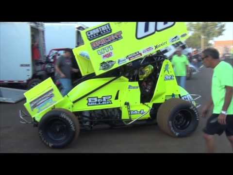 Lincoln Speedway All Star Circuit of Champions Highlights 8-20-16