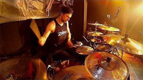 Manu Lotter - Farewell to Arms | Rejected live @ JUZE Landsberg am Lech 17/05/14 | Drumcam