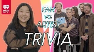 The Maine Goes Head to Head With Their Biggest Fan   Fan Vs Artist Trivia