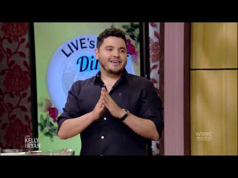 """Watch Chris Valdes make Chicken Vaca Frita on """"LIVE with Kelly and Ryan"""""""
