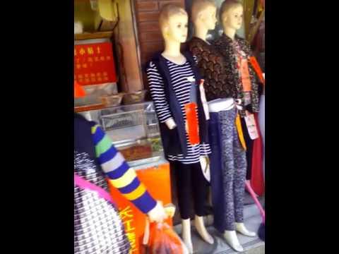 Walking in Putuo District, Shanghai