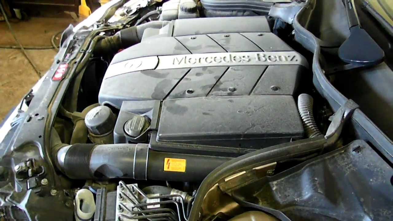 12f0567 2005 mercedes c class c240 4matic 2 6 a t awd for Mercedes benz scrap yard