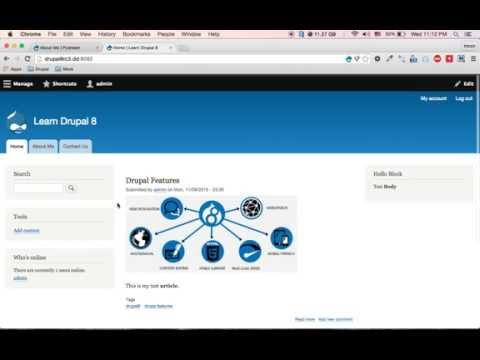 Learn Drupal 8 - How to add custom 404 page not found and 403 access denied page