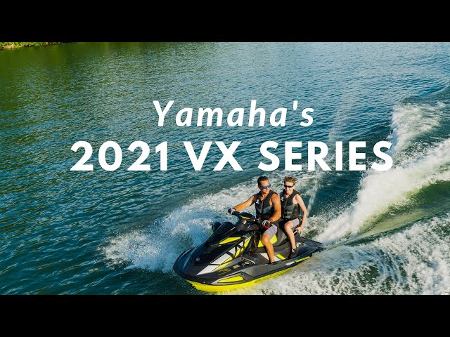 Yamaha's All-New 2021 VX Series WaveRunners featuring the New VX Limited HO