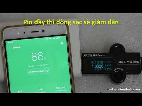 Nên sạc điện thoại như thế nào khi sạc nhanh Quick Charge