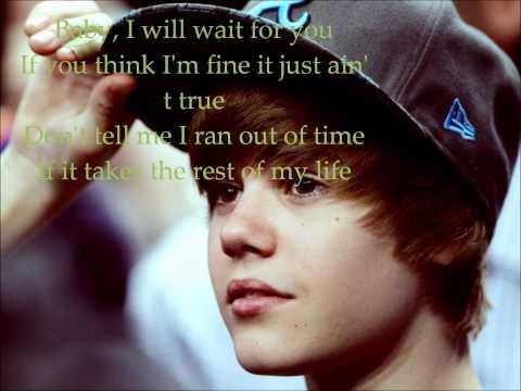 Justin Bieber - Wait For You (Lyrics on screen)