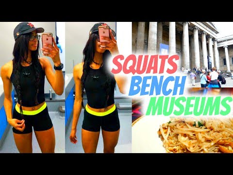 Exploring London Alone | Squats, Bench and Museums | Vlog 5 • Lawenwoss