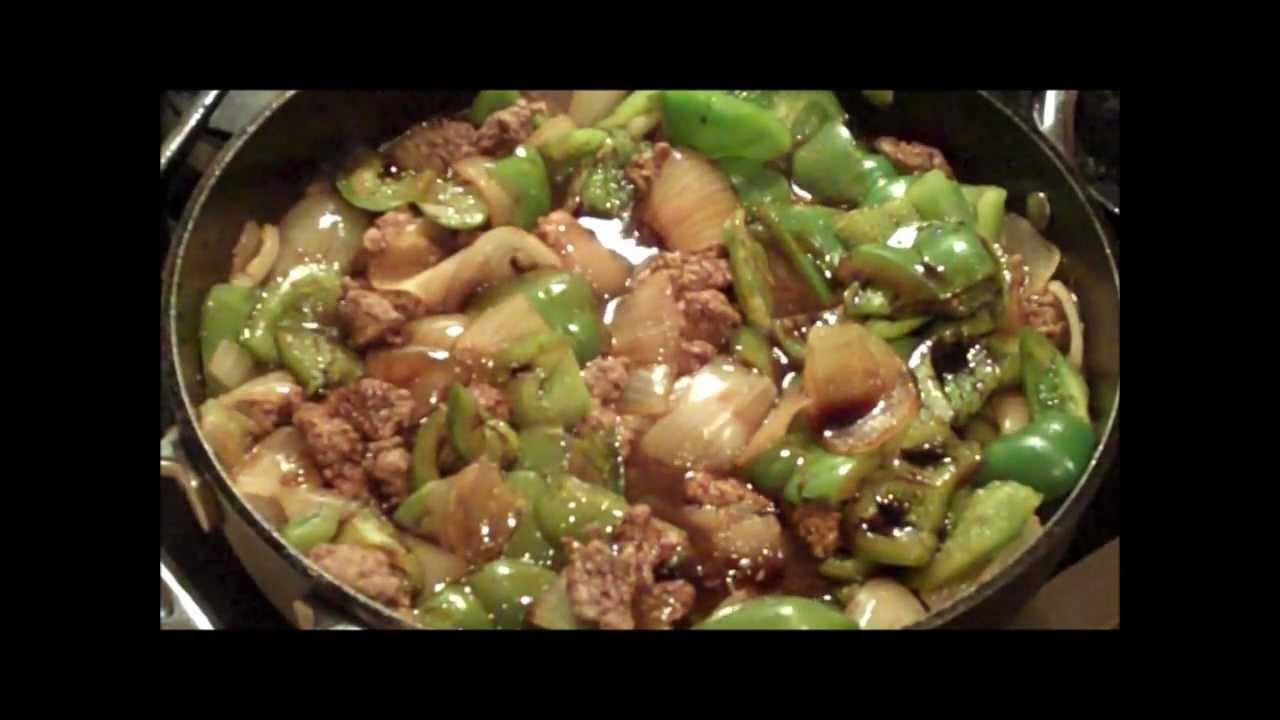 Easy pepper steak and onion recipe