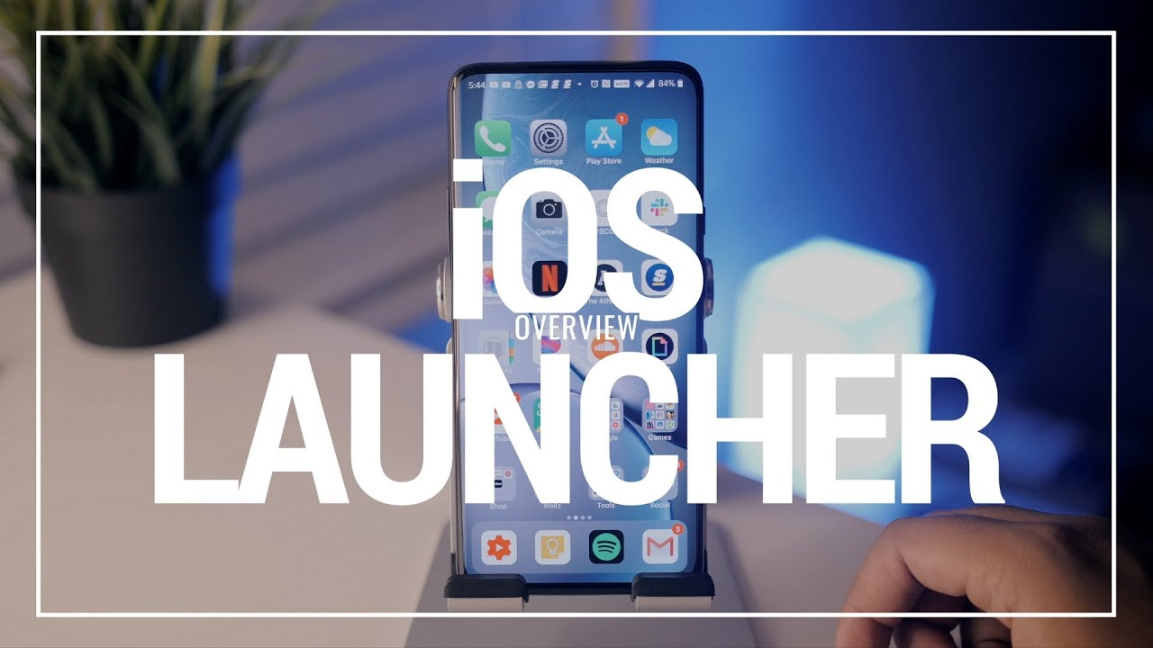 iOS Launcher Full Overview!