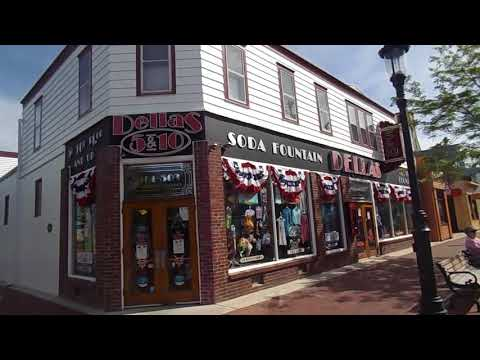 Walking Tour of Cape May's Washington Street Mall (June 2018)