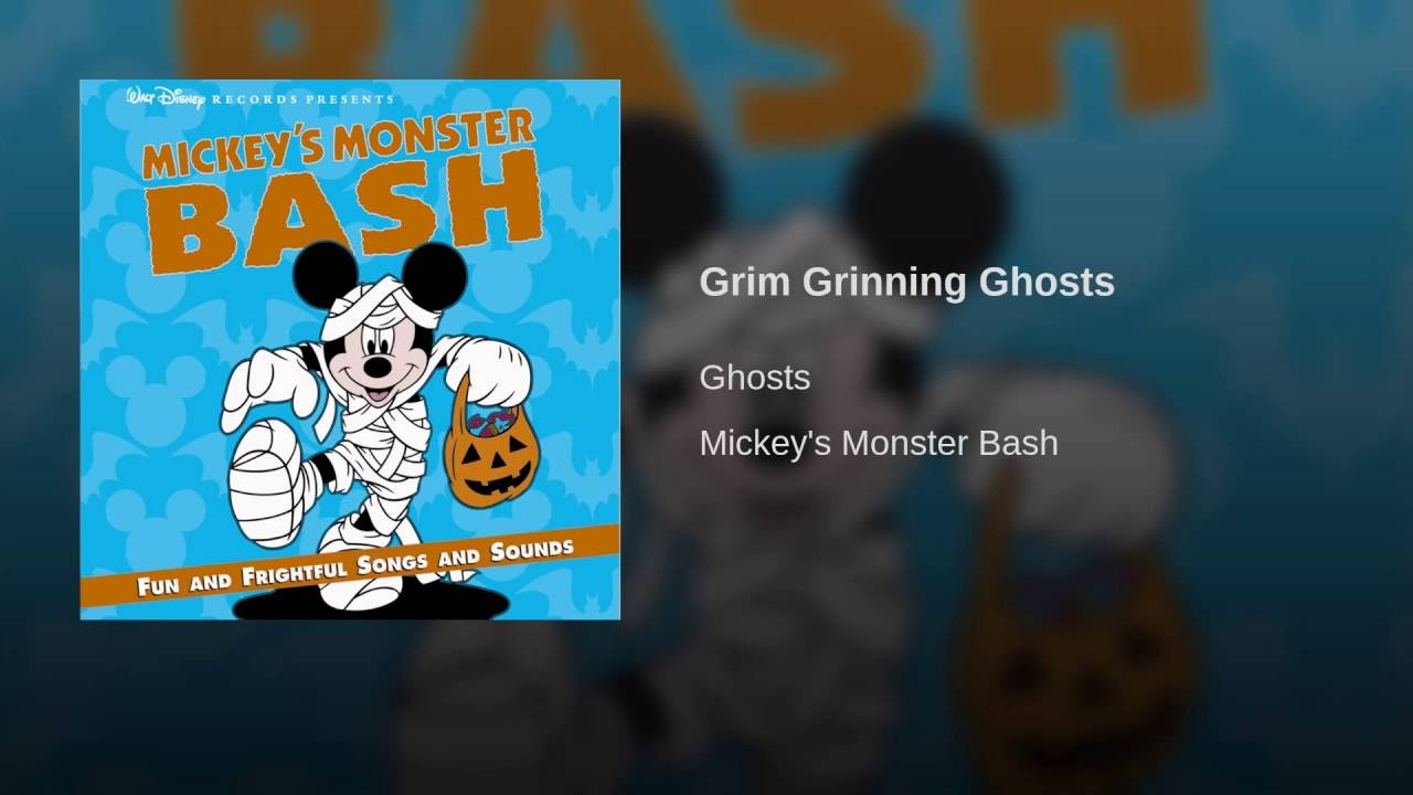 Svg Grim Grinning Ghosts