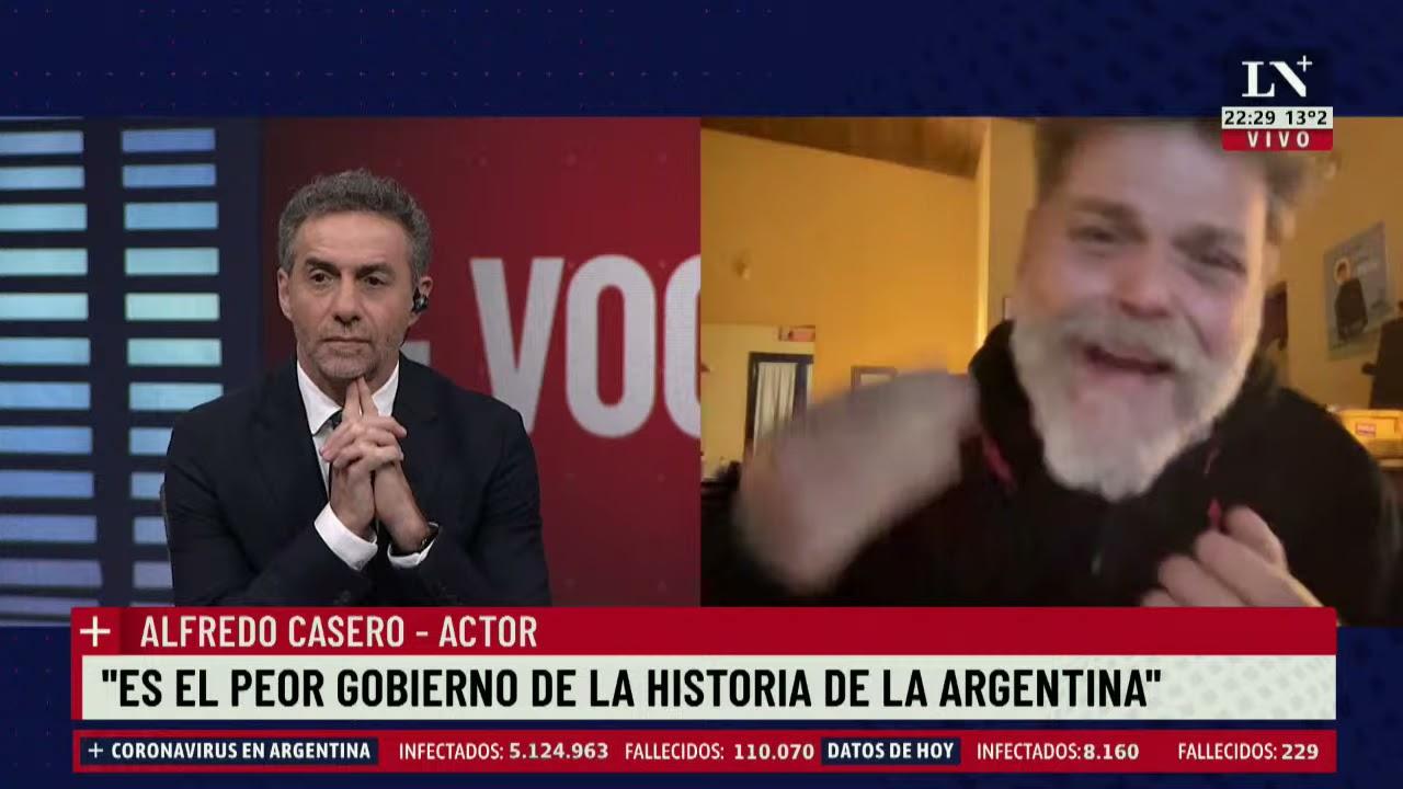 """Download Alfredo Casero: """"Es el peor gobierno de la historia de la Argentina"""""""