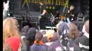 "President Evil - ""Jesus Factor Negative"" live at Rock Harz"