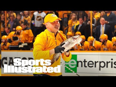 Predators Fan Who Hurled Catfish On To Ice Charged In Pittsburgh | SI Wire | Sports Illustrated