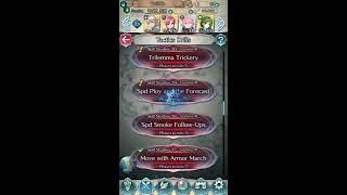 [FE Heroes Story Maps] Tactics Drills: Skill Studies 18 (Speed Smoke Follow Ups)