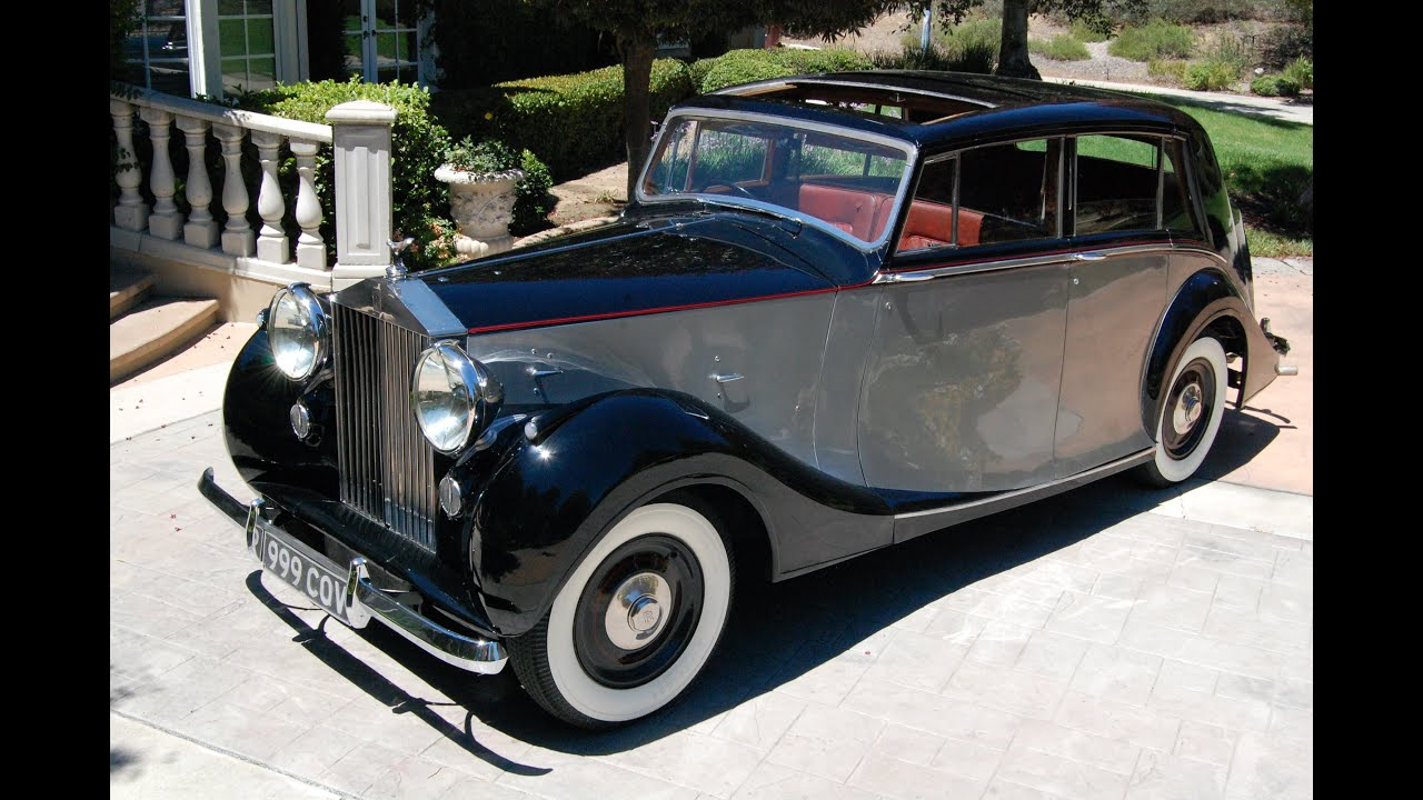 1948 Rolls Royce Silver Wraith Hooper Limo Sold Youtube