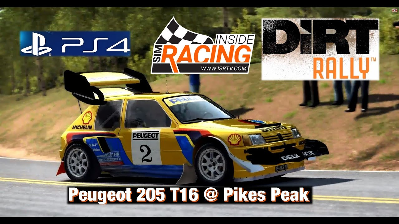 Dirt Rally PS4 Peugeot 205 T16 @ Pikes Peak Sector 1