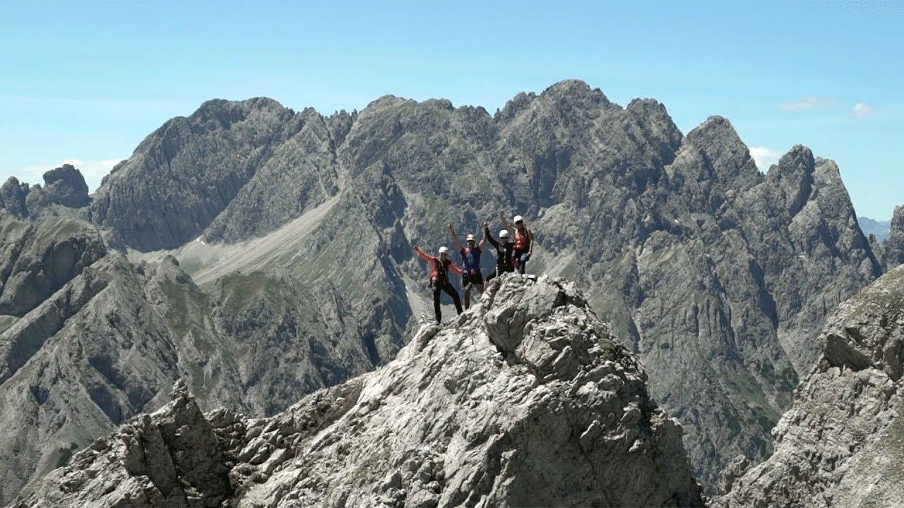 Klettersteig Osttirol : Klettersteige in osttirol youtube